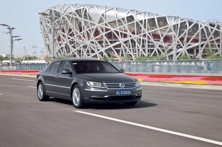 Der neue Volkswagen Phaeton/Phaeton Exclusive mit langem Radstand, W12 6.0 Motor mit 331 kW / 450 PS #cars #advertising #architecture
