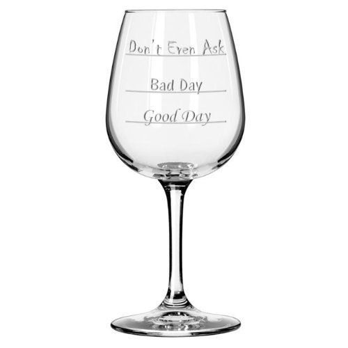 Cool Wine Glass. Unique Mens Birthday Gifts.