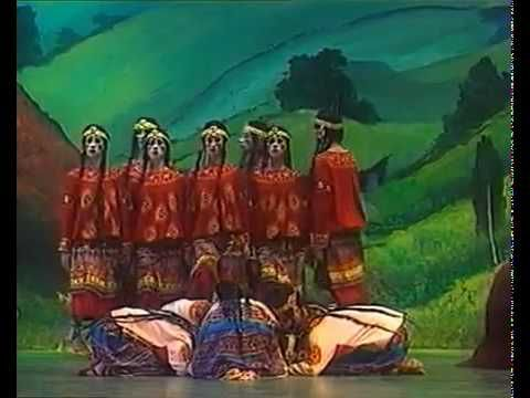 """Joffrey Ballet 1987 Rite of Spring (1 of 3) In 1987, the Joffrey Ballet received a National Endowment for the Arts (NEA) grant in Dance of 243,400 dollars """"to support three self-produced seasons in New York City and Los Angeles, and the reconstruction of Vaslav Nijinsky's Le Sacre du Printemps."""" The reconstruction was done by Millicent Hodson, a choreographer and dance historian, and her husband Kenneth Archer, an art historian."""
