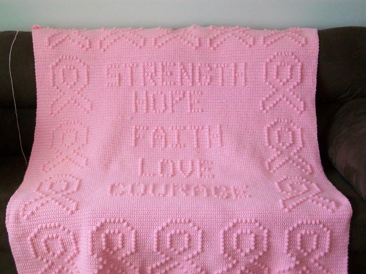 how to make a popcorn stitch afghan