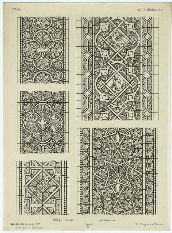 [Gothic design.]