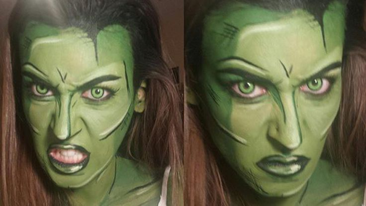 Makeup artist creates amazing superhero transformations with face ...