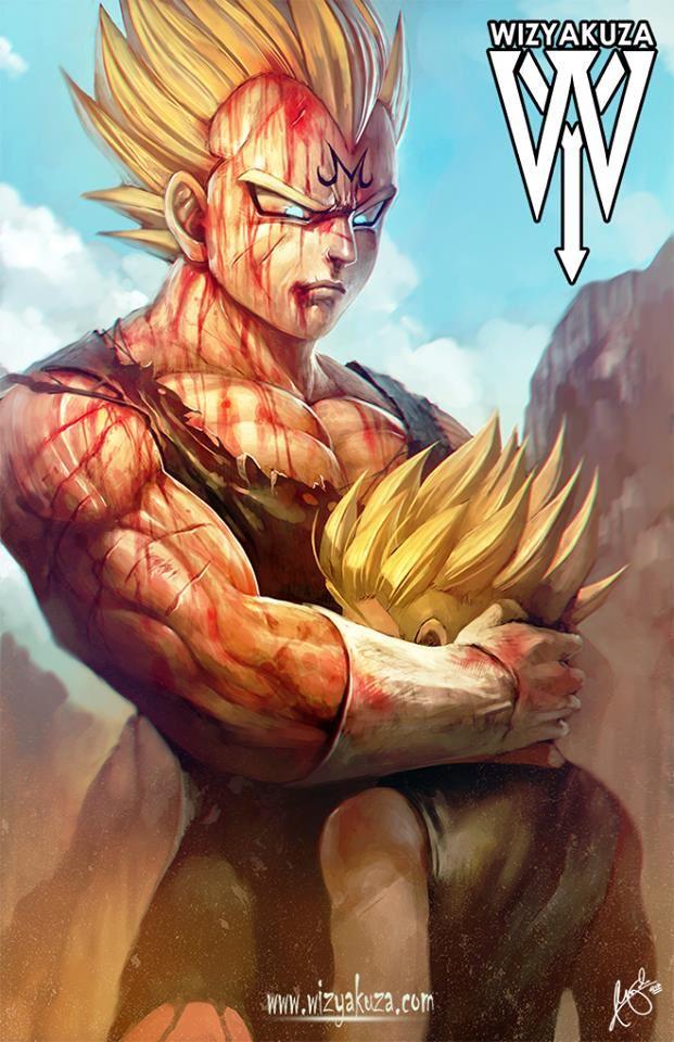 Dragon Ball Z Father And Son By Wizyakuza