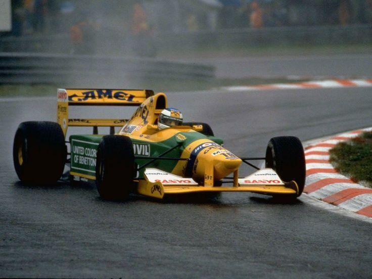 Michael Schumacher - Benetton - Spa Francorchamps, Belgian Grand Prix - 1992
