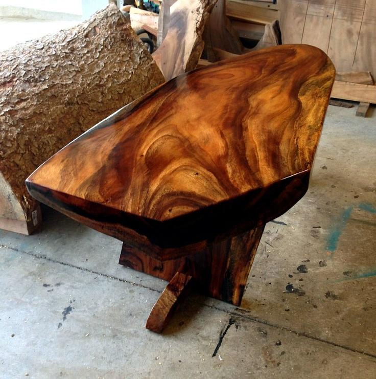 Large Vintage Monkey Pod Wood Slab Coffee Table: 19 Best 5&2 Woodworks Images On Pinterest