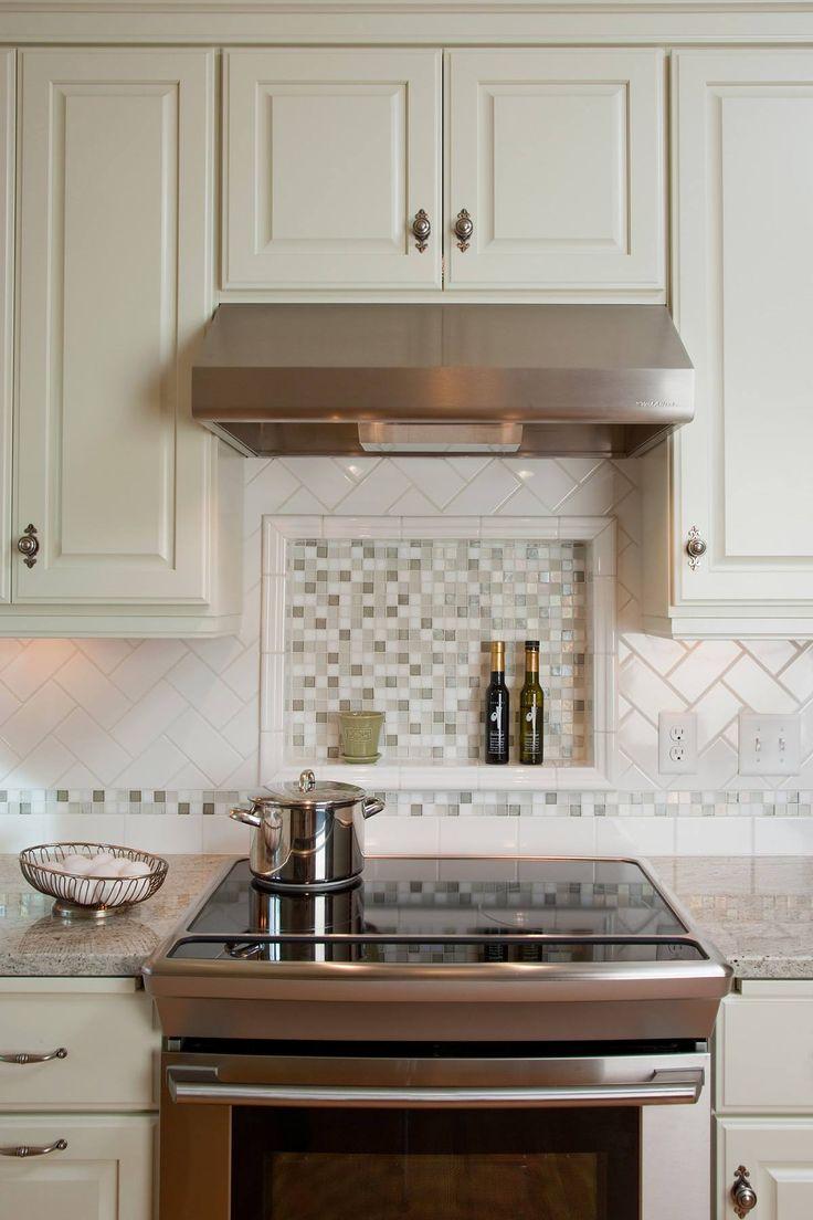 Inch Tile Kitchen Backsplash