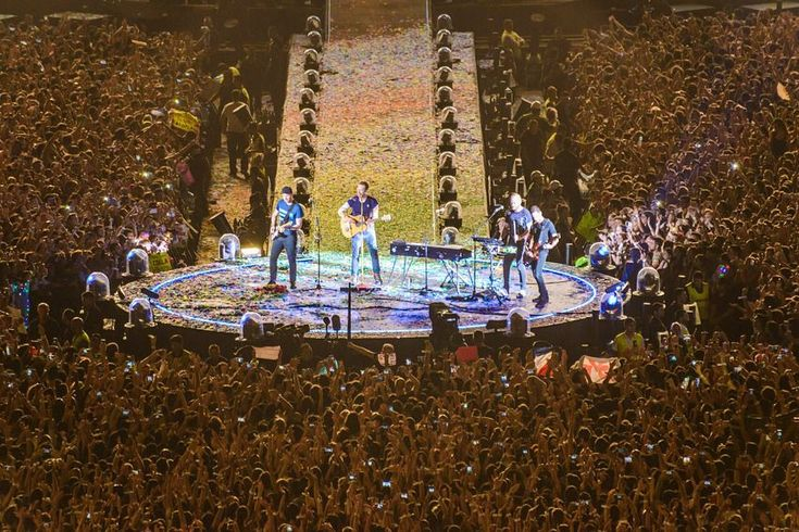 #ThankYouAHFOD the end of the tour #Coldplay