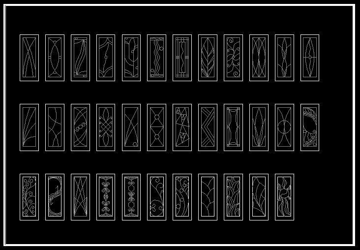 CAD Library-AutoCAD Blocks & Drawings : ★【European Classical elements Blocks】★