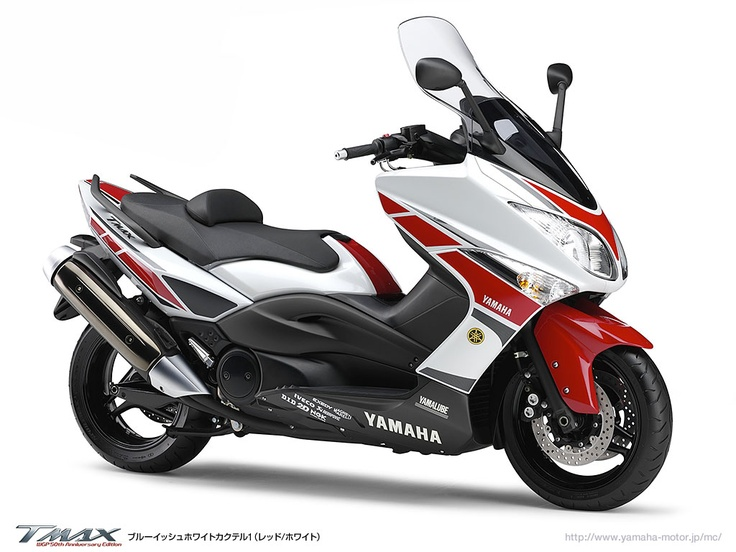 YAMAHA TMAX WGP50th Anniversary Edition 2011