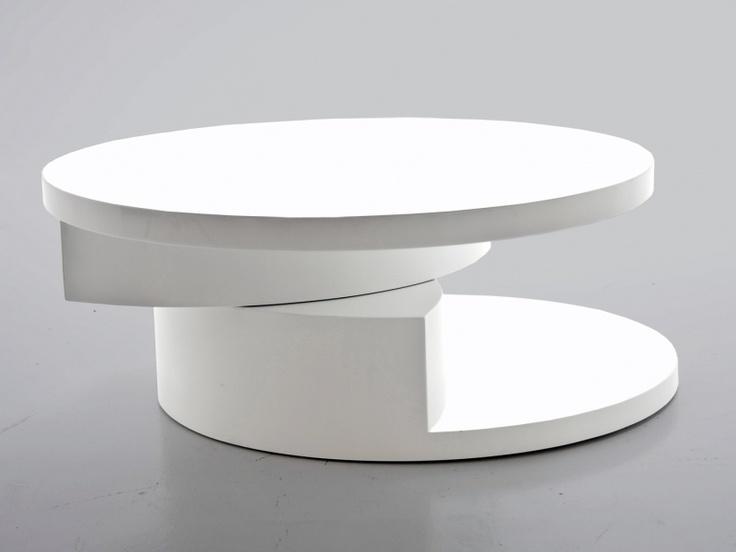 Konferenční stolek otočný kulatý Pull
