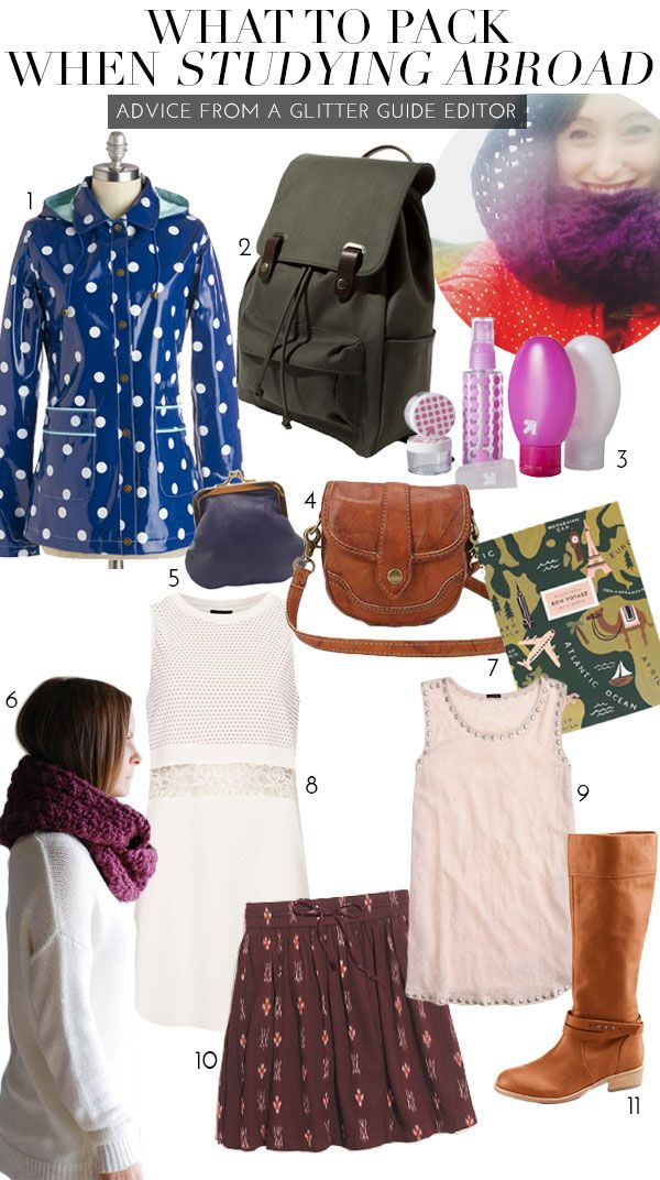 Study Abroad Packing List | theglitterguide.com