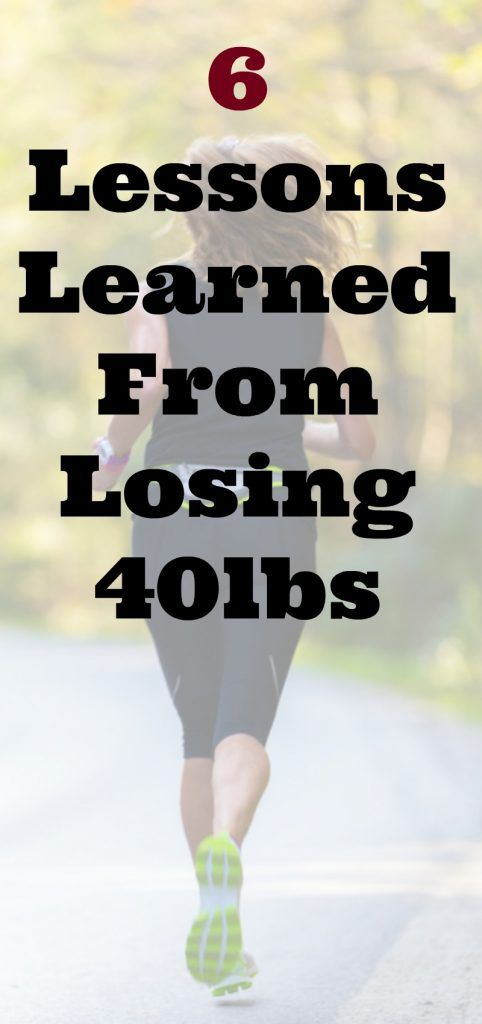 Tammy's Tuesday Weigh In: 6 Lessons I Learned From Losing 40 Pounds