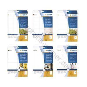 Herma-Etiketten-transparent-glasklar-klar-Folie-glaenzend