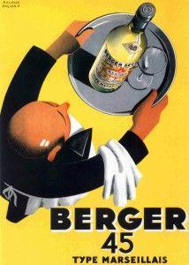 Berger45-vintage, vintage french advertising
