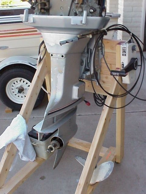 Need to build outboard motor stand: Any plans, pics ...