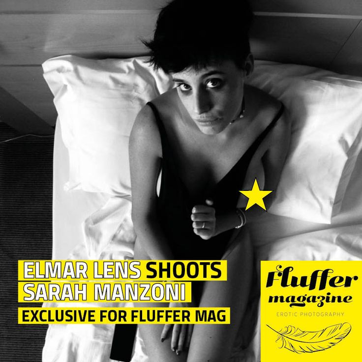 Model Sarah Manzoni at her best in the pics of Elmar Lens. An exclusive photoset for Fluffer Magazine, featured on the fourth issue of the magazine