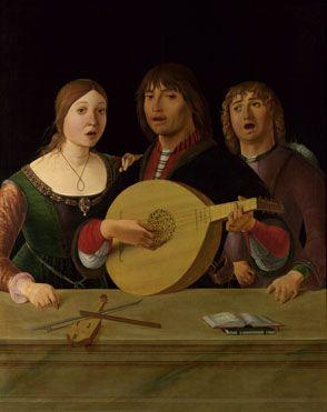 Lorenzo Costa: 'A Concert' c1485x1495