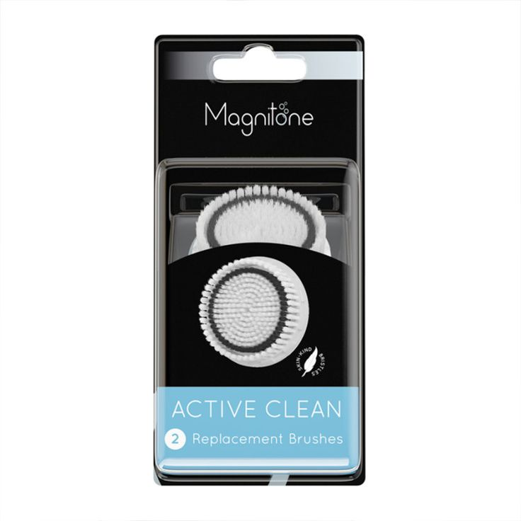 Magnitone Lucid Active Clean Replacement Brushes, £15.99