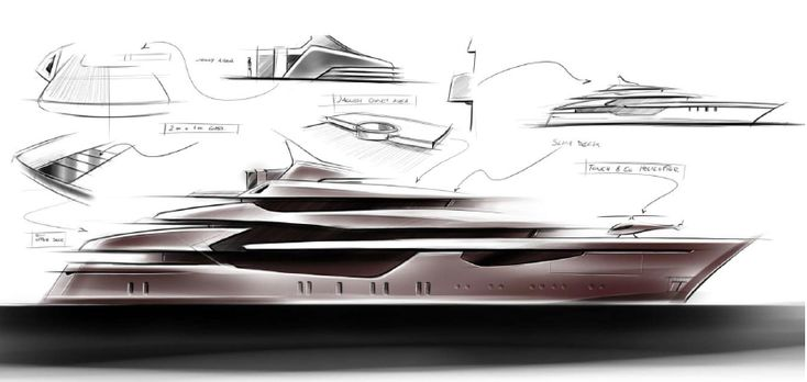 47 best images about boat sketches on pinterest peugeot for Yacht design milano