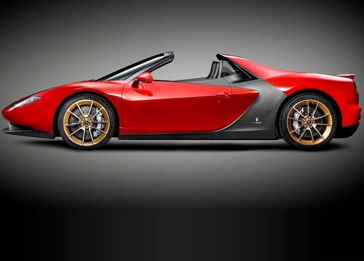2015 Ferrari Sergio Side Angle