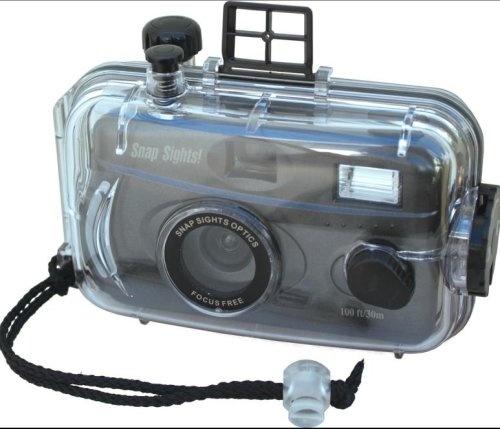 Snap Sights Flash 35 mm Waterproof Underwater Reusable Camera $18.95
