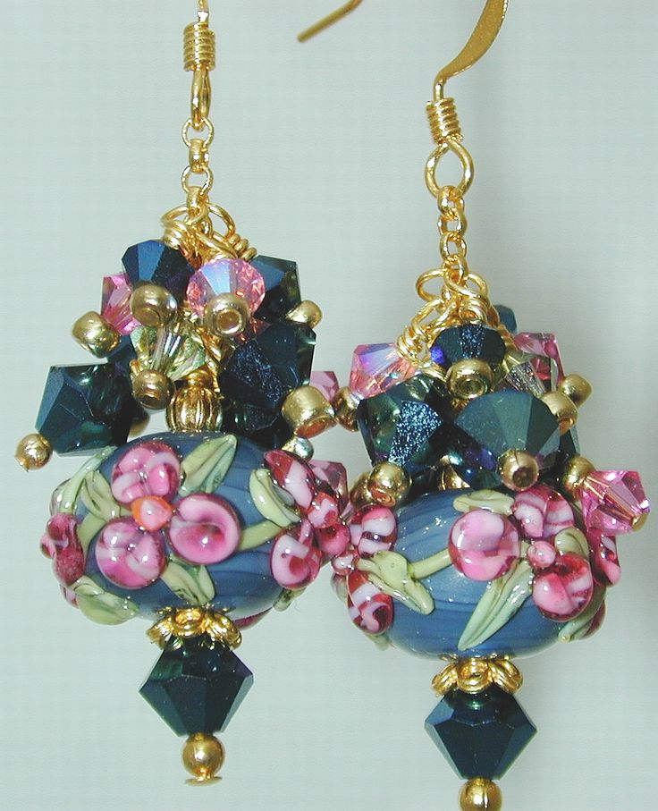 Great pendant idea for individual lampwork beads Jensen Beach Beads & Jewelry
