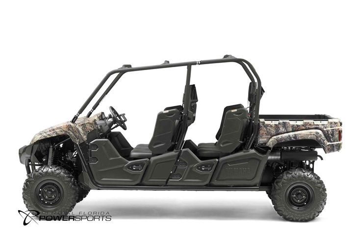 New 2017 Yamaha Viking VI EPS ATVs For Sale in Florida. 2017 Yamaha Viking VI EPS, The Viking VI EPS offers class leading passenger capacity and comfort for tough terrain in a quiet and smooth riding machine. Room for Six Torquey 700-Class Engine High Volume Intake Responsive and Reliable Ultramatic® Transmission On-Command® 4WD Roomy Cabin and Cargo Capacity Come to Central Florida PowerSports, your favorite New and Used Yamaha Motorcycle Dealerin the Orlando and Kissimmee, Florida area.