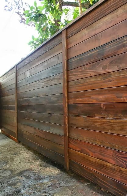 1000 Ideas About Diy Backyard Fence On Pinterest