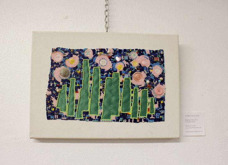 Shoshana Coodin's beadwork in the August 2013 Showcase at McCaul.