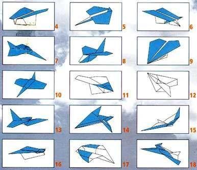 Origami Facile Avion