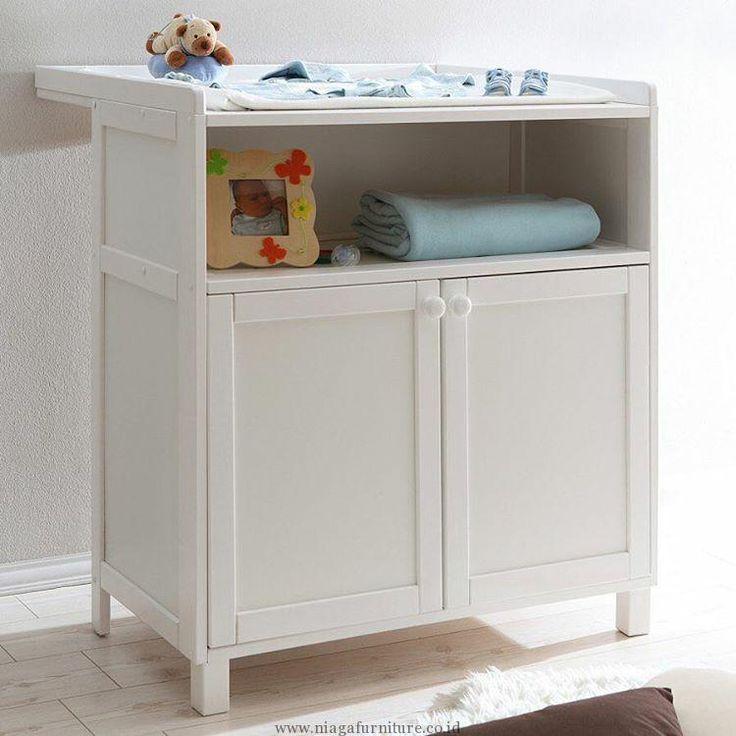 Baby Tafel Putih Minimalis Terbaru -Produk Ini sangat pas untuk bunda miliki. Karena tempat untuk mengganti popok ini dilengkapi dengan busa empuk diatas