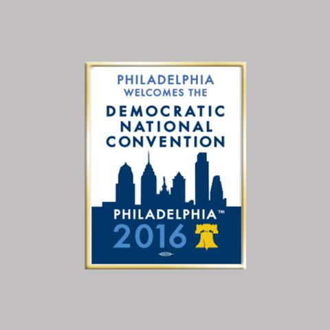 2016 Democratic National Convention Lapel Pin