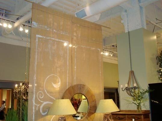 Hanging Room Dividers Beads Shift Ideas Pinterest