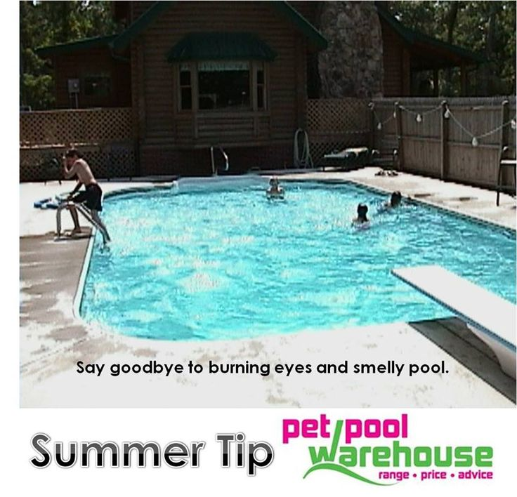 Great SUMMER TIP  Enjoy a sparkling blue pool this summer with free water testing (Cl&pH) and advice from Pet Pool Warehouse #summertips #swimmingpool