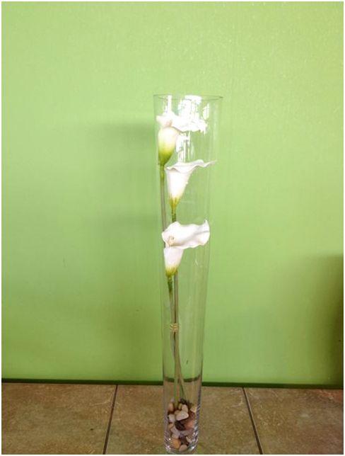 silk flowers in vase