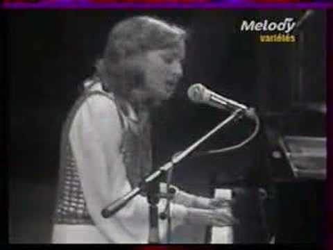 """Véronique Sanson """" besoin de personne """" à l'émission Cadet Rousselle en 1972"""