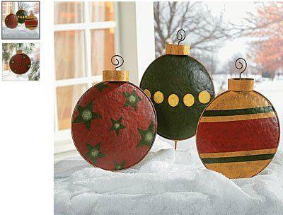 Giant Christmas Tree Ornament Garden Decor Yard Stakes 400 x 300