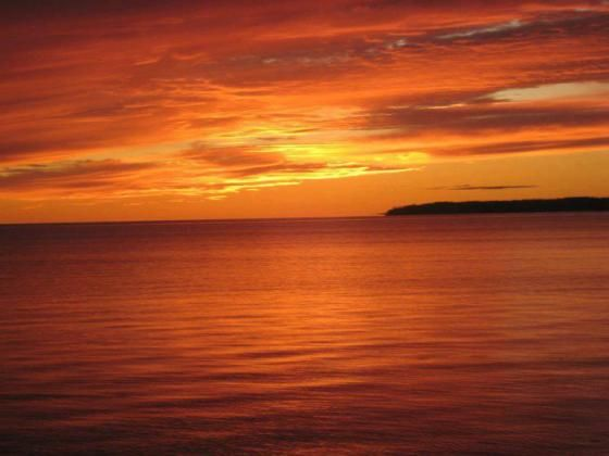 Sunset, Summerside Harbour