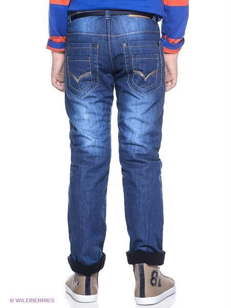 Темно синие джинсы с отсрочкой
