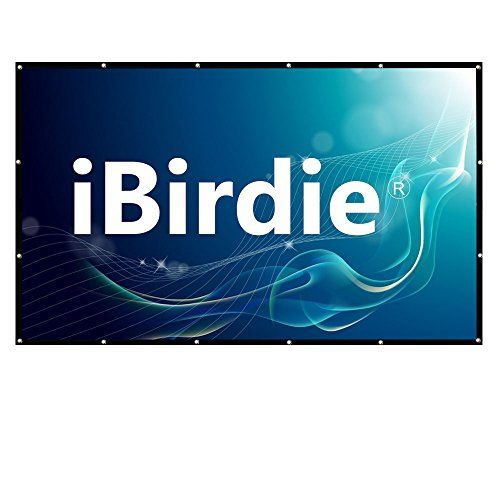 Projector Screen 100 Inch Diag HD 16:9, Portable Foldable Indoor Outdoor Movie Screen #Projector #Screen #Inch #Diag #Portable #Foldable #Indoor #Outdoor #Movie