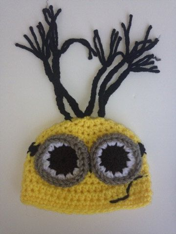 Crochet Minion Costume Despicable me minion by BellaandSelah