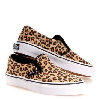 Leopard Vans. I need these! they match my leopard Vans hat!