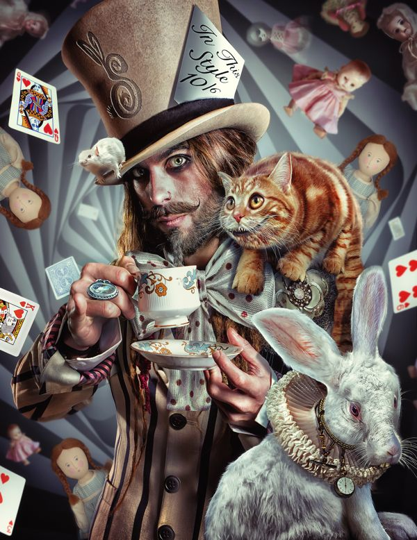 The Mad Hatter on Behance lee howell