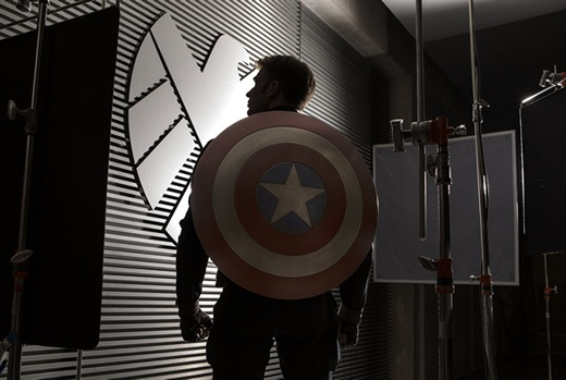First look at Chris Evans as Captain America  in Captain America: The Winter Soldier