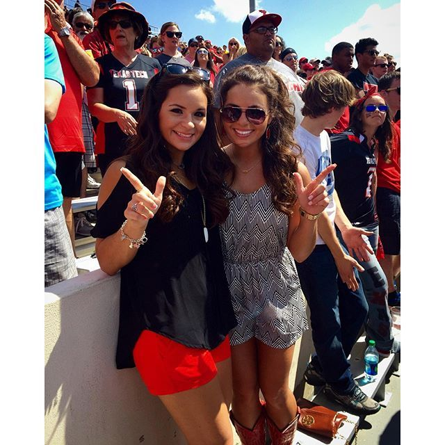 Texas tech game day outfit