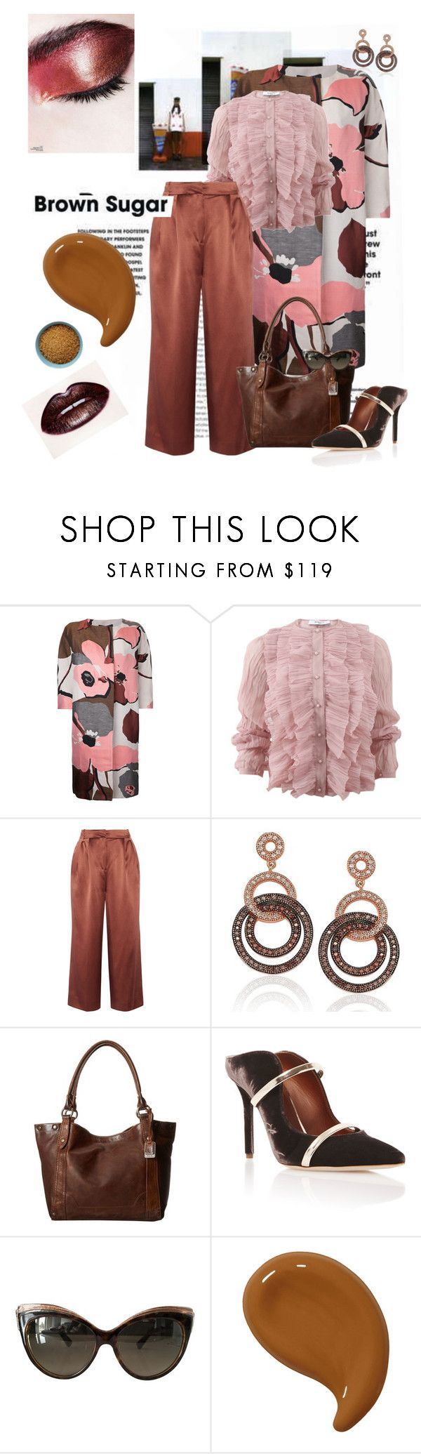 """""""Sugar Rush"""" by scope-stilettos ❤ liked on Polyvore featuring Paule Ka, Givenchy, TIBI, Suzy Levian, Frye, Malone Souliers and Christian Dior"""