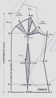 Modelagem do corpete