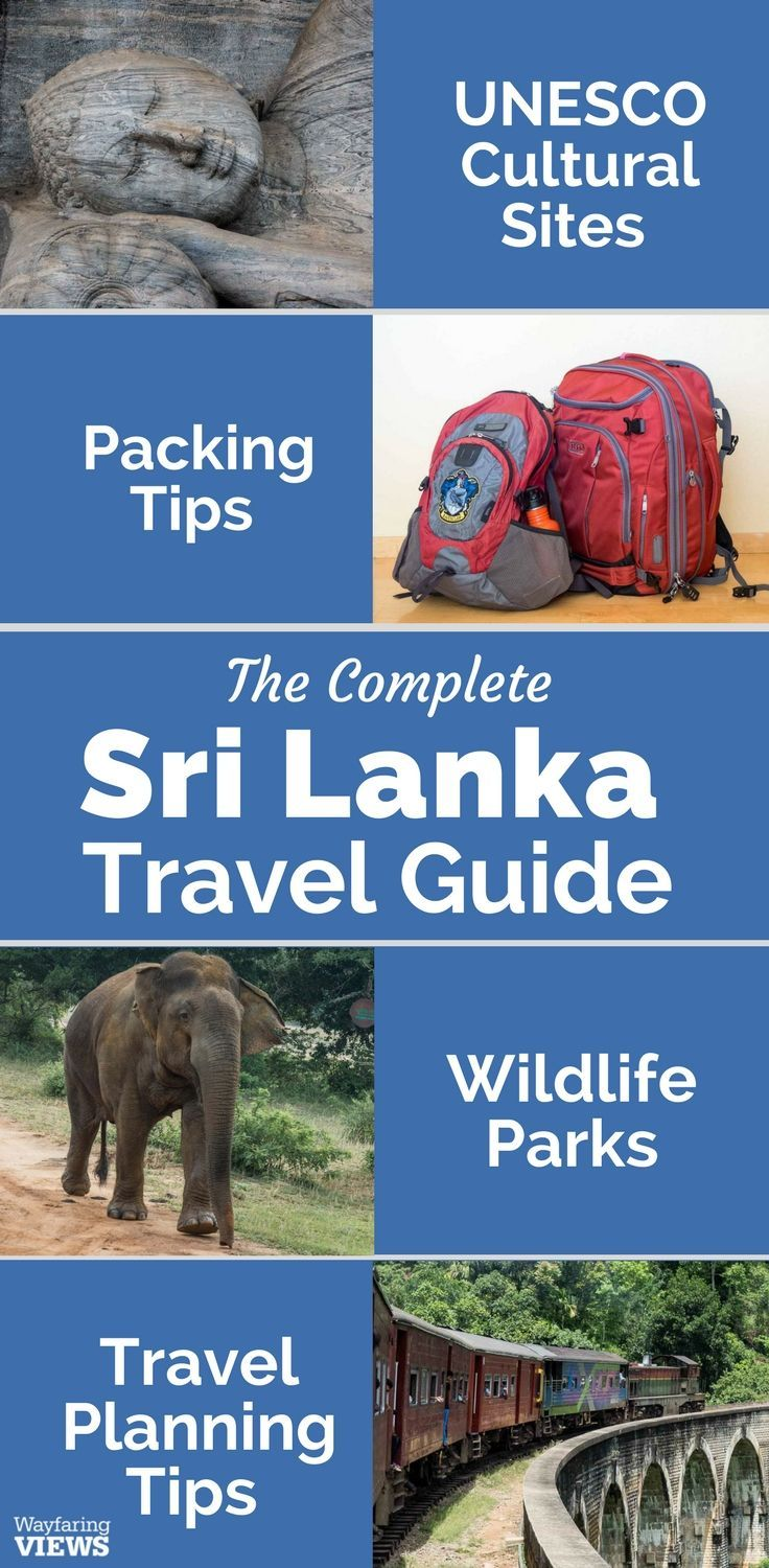This travel guide to Sri Lanka will give you all of the tips you need to plan an itinerary full of nature, culture and wildlife. Get the top 10 things to do in Sri Lanka, like Sigiyra. Get tips for getting around (like by train). And get a list of top 6 t