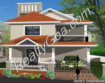 Goa Property Luxurious 3 BR Ind. Villa Residential for Sale in Aldona - North - Goa