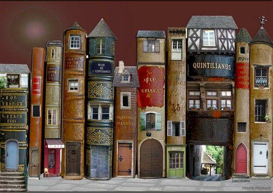 Pueblo de libros.
